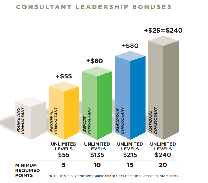 leadership bonuses